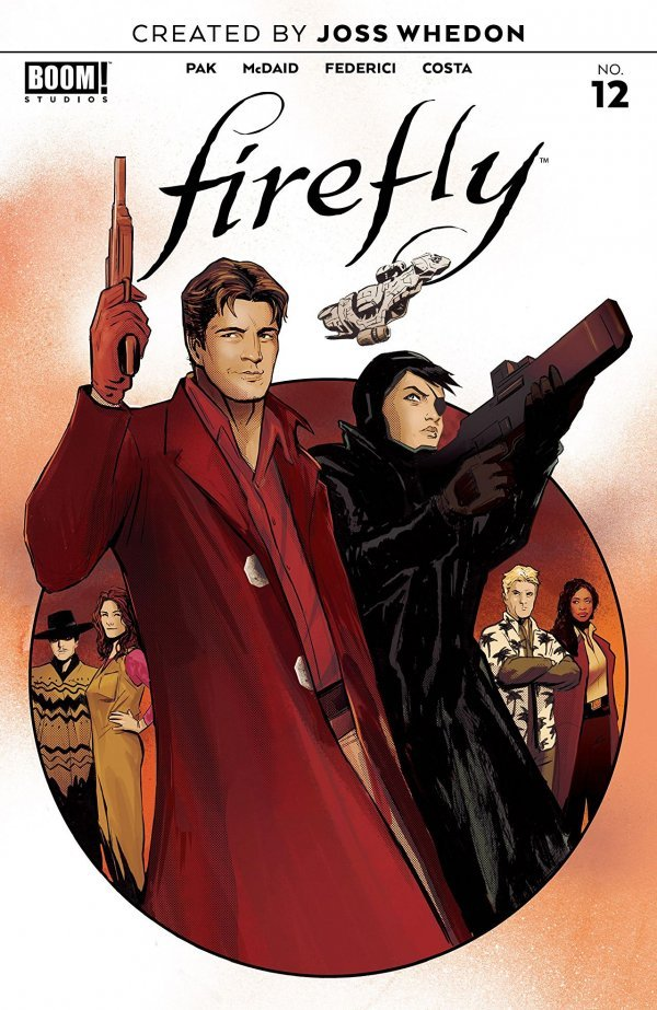 Comic Pulls for week of December 18th, 2019 FIREFLY #12