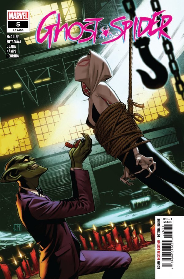 Comic Pulls for week of December 18th, 2019 GHOST-SPIDER #5