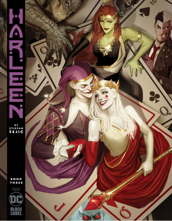 Comic Pulls for week of December 18th, 2019 HARLEEN #3 VARIANT EDITION