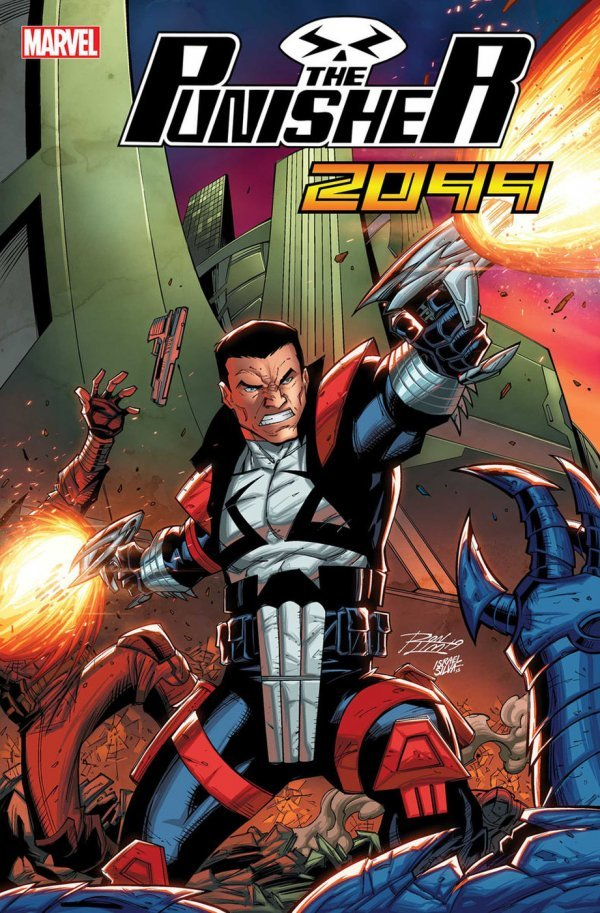 Comic Pulls from November 27, 2019 PUNISHER 2099 #1 RON LIM VARIANT