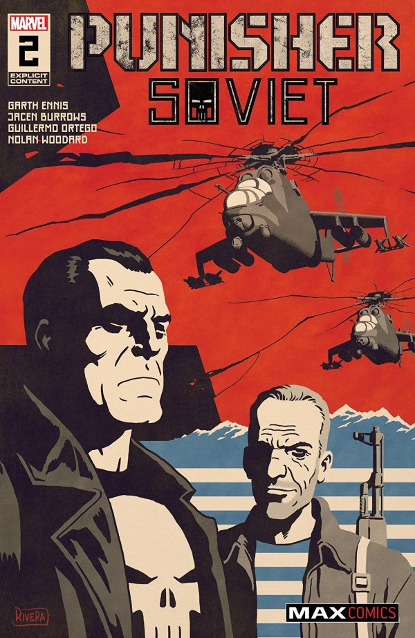 Comic Pulls for week of December 11th, 2019 PUNISHER SOVIET #2