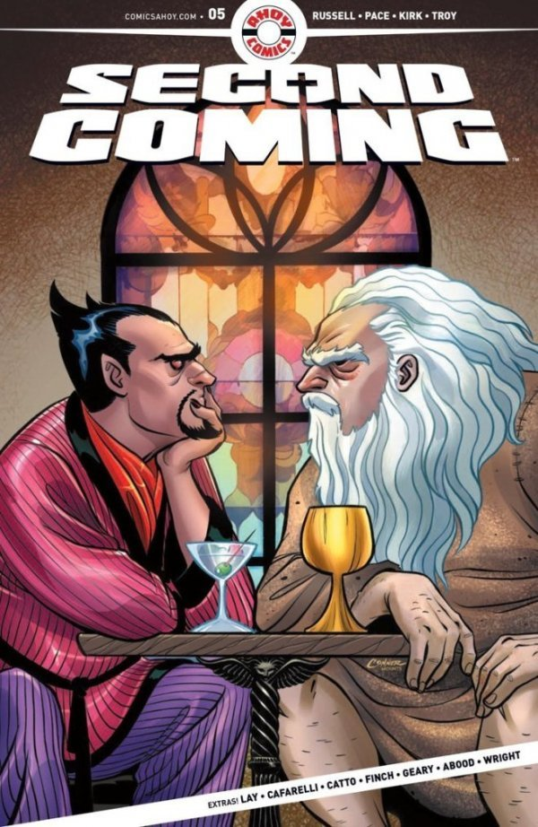 Comic Pulls from November 27, 2019 SECOND COMING #5