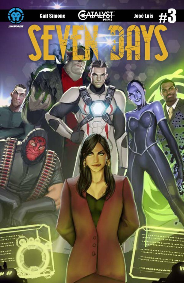 Comic Pulls for week of December 11th, 2019 SEVEN DAYS #3