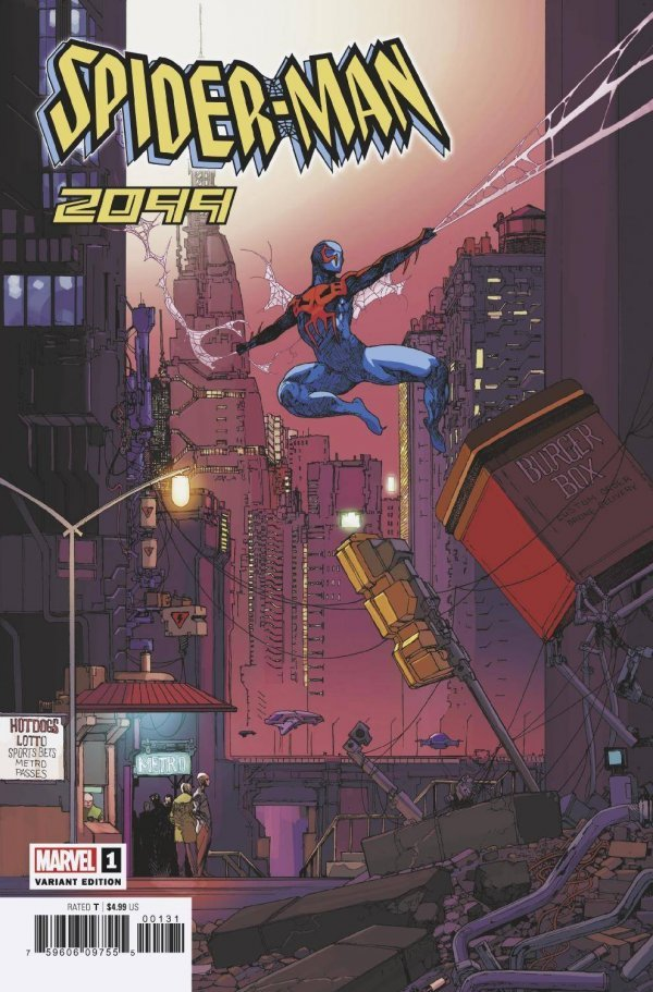 Comic Pulls for week of December 11th, 2019 SPIDER-MAN 2099 #1 125 FOREMAN INCENTIVE