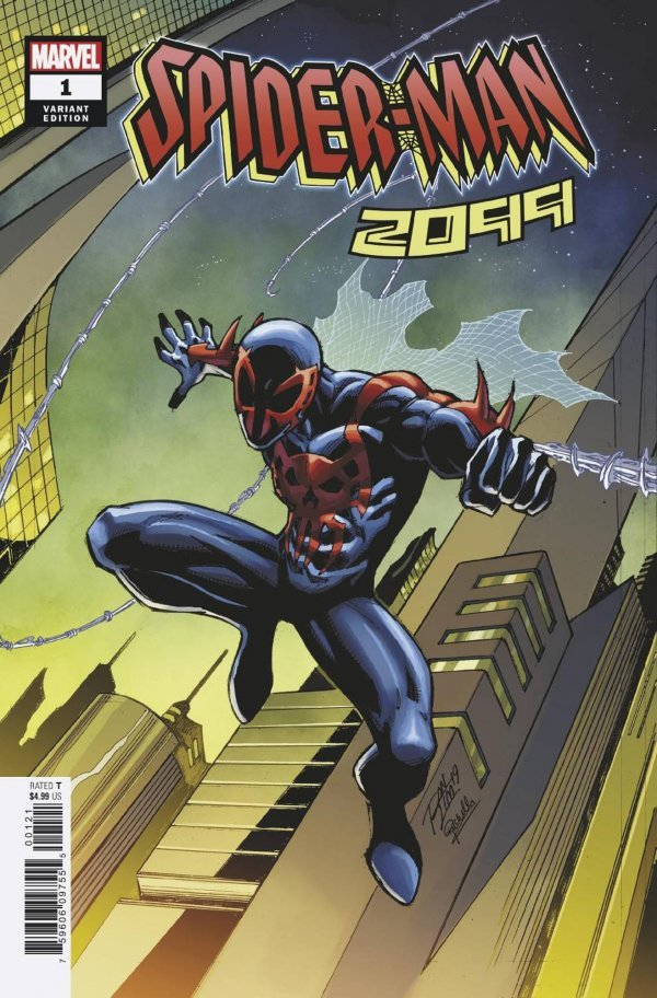 Comic Pulls for week of December 11th, 2019 SPIDER-MAN 2099 #1 RON LIM VARIANT