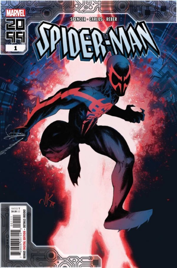 Comic Pulls for week of December 11th, 2019 SPIDER-MAN 2099 #1