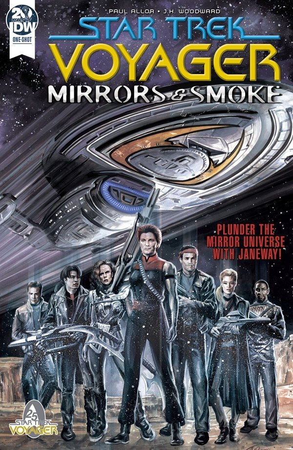 Comic Pulls for week of December 11th, 2019 STAR TREK VOYAGER – MIRRORS AND SMOKE #1