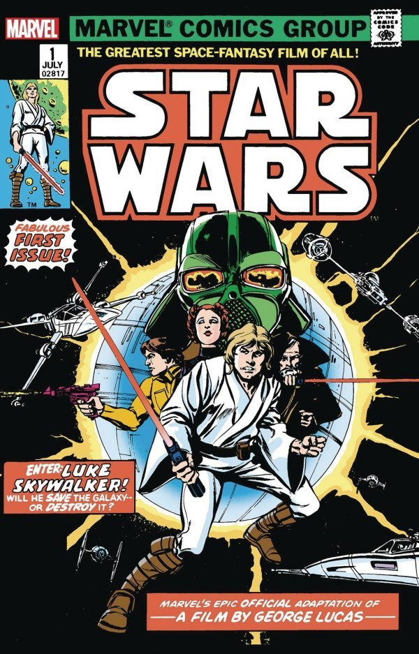 Comic Pulls for week of December 4th, 2019 STAR WARS #1 FACSIMILE EDITION