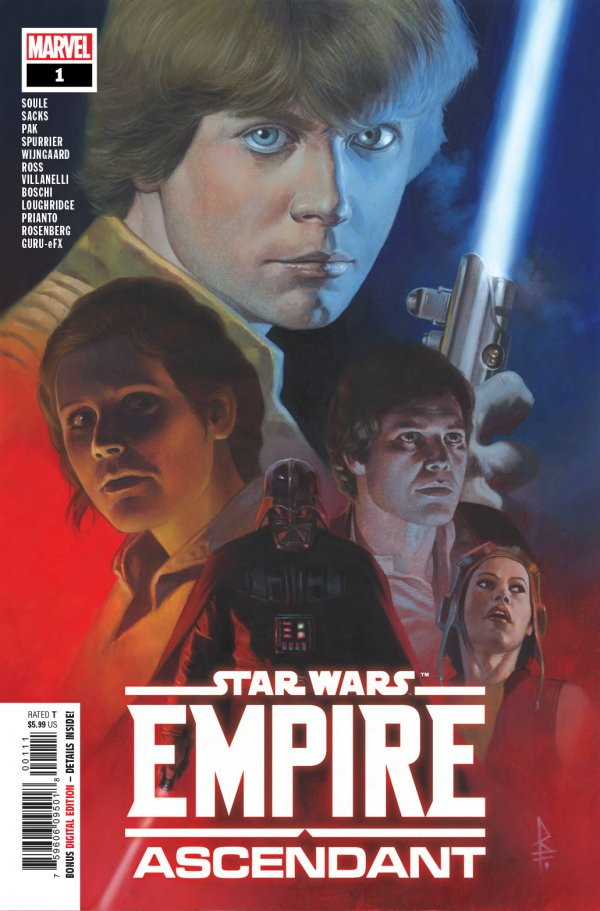 Comic Pulls for week of December 18th, 2019 STAR WARS EMPIRE ASCENDANT #1