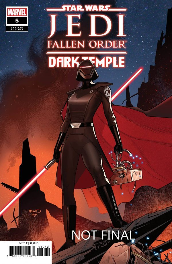 Comic Pulls for week of December 4th, 2019 STAR WARS JEDI FALLEN ORDER – DARK TEMPLE #5 110 INCENTIVE