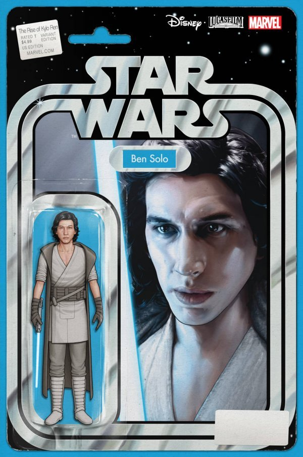 Comic Pulls for week of December 18th, 2019 STAR WARS THE RISE OF KYLO REN #1 ACTION FIGURE VARIANT