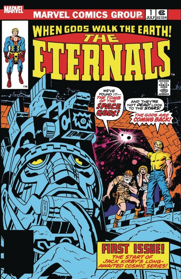 Comic Pulls for week of December 18th, 2019 THE ETERNALS #1 FACSIMILE EDITION