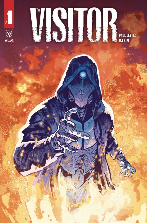 Comic Pulls for week of December 18th, 2019 THE VISITOR #1 COVER C WALSH