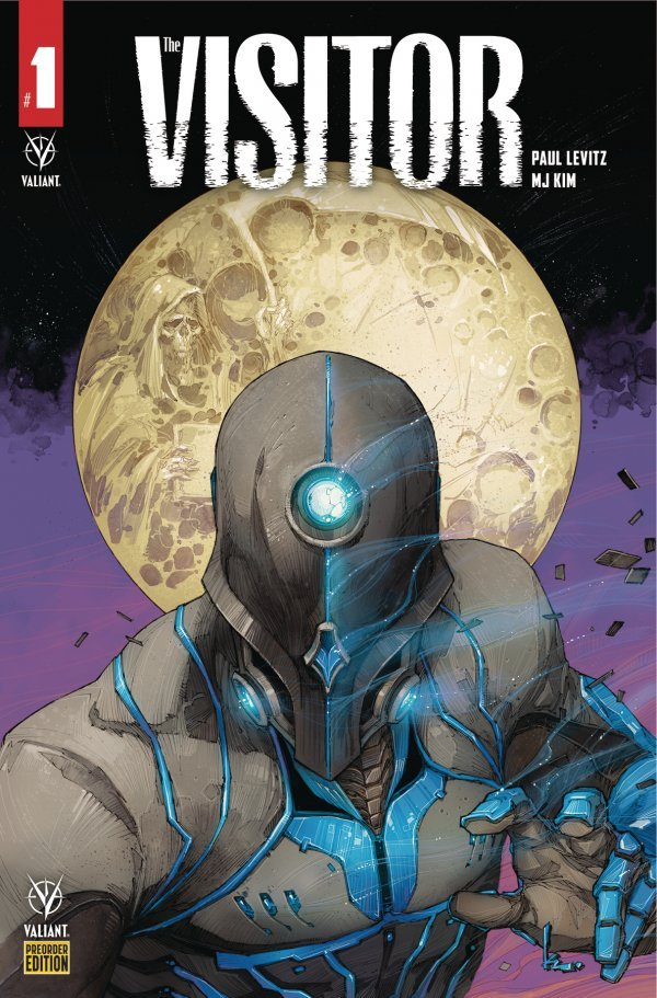 Comic Pulls for week of December 18th, 2019 THE VISITOR #1 COVER E PRE-ORDER ROCAFORT