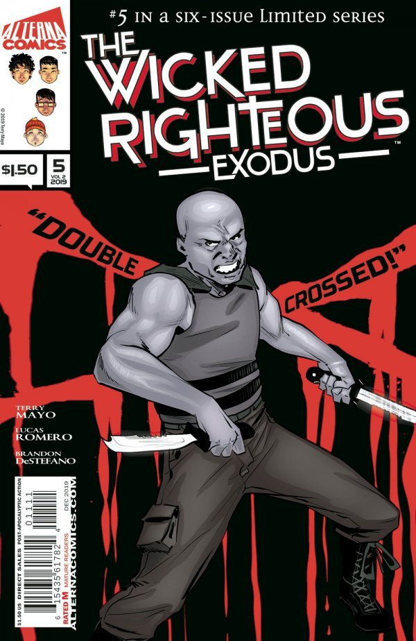 Comic Pulls for week of December 18th, 2019 THE WICKED RIGHTEOUS #5