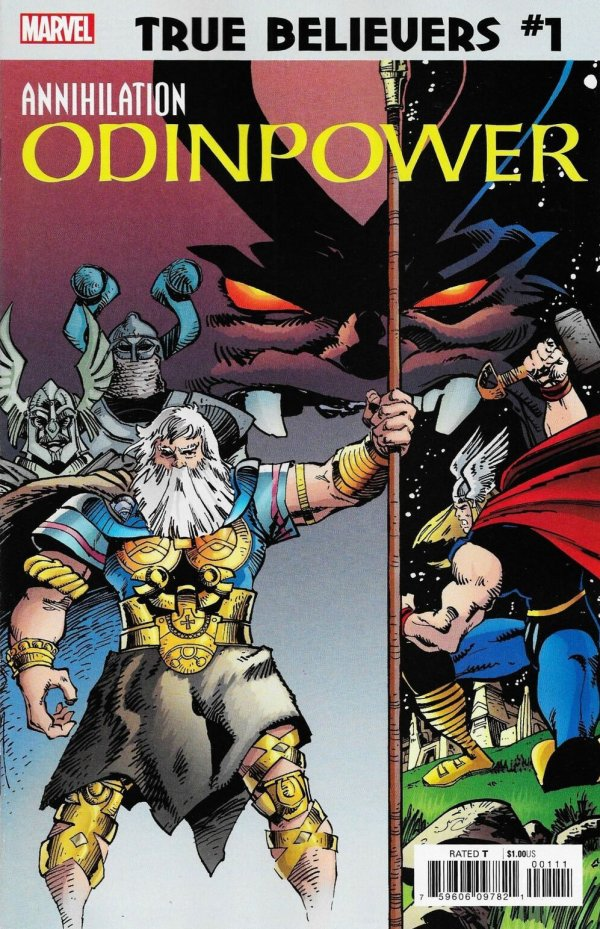 Comic Pulls for week of December 18th, 2019 TRUE BELIEVERS ANNIHILATION – ODINPOWER #1