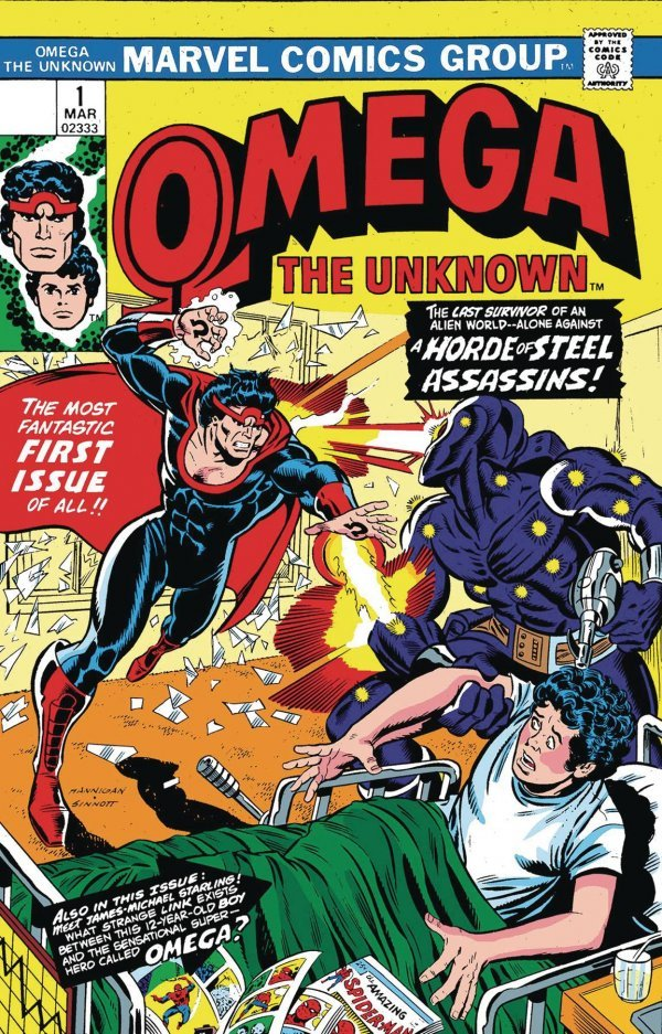 Comic Pulls for week of December 11th, 2019 TRUE BELIEVERS ANNIHILATION – OMEGA THE UNKNOWN #1