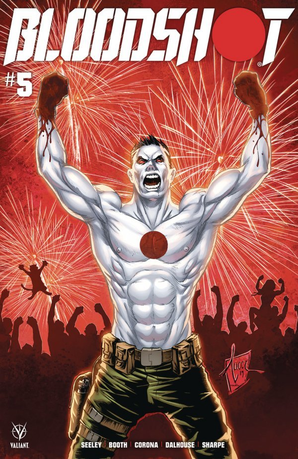 Comic Pulls for week of January 15, 2020 BLOODSHOT #5 COVER B TUCCI