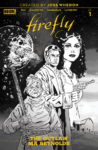 FIREFLY OUTLAW MA REYNOLDS 1 1 in 25 WALSH COVER 98x150 Comic Pulls for week of January 8, 2020