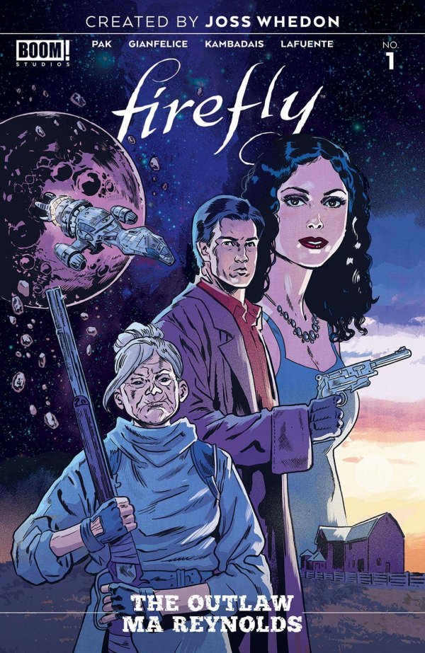 Comic Pulls for week of January 8, 2020 FIREFLY OUTLAW MA REYNOLDS #1 COVER B DOYLE