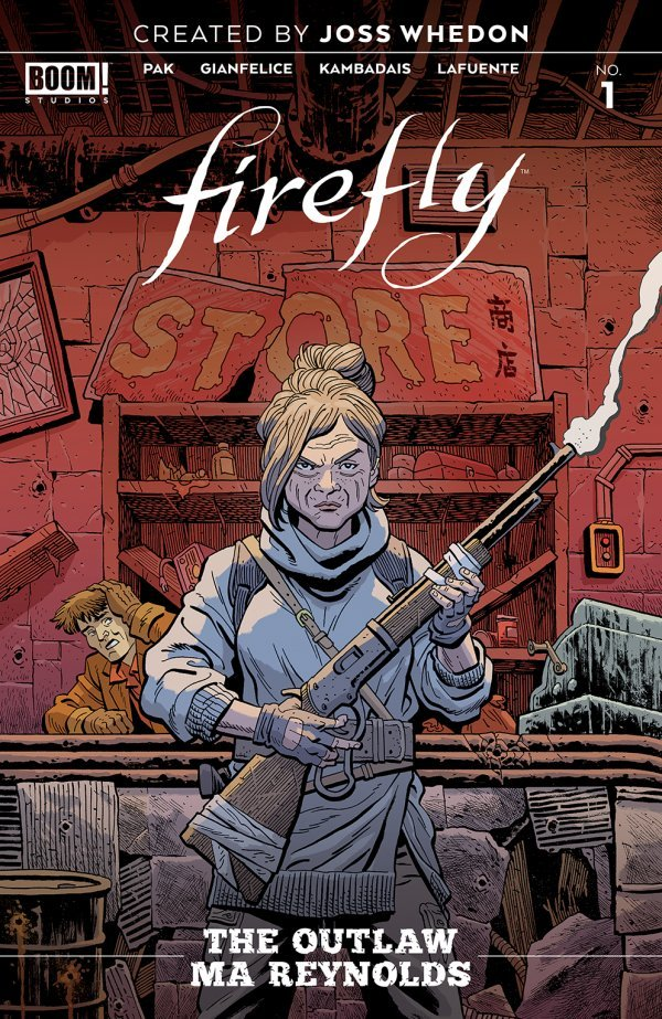 Comic Pulls for week of January 8, 2020 FIREFLY OUTLAW MA REYNOLDS #1