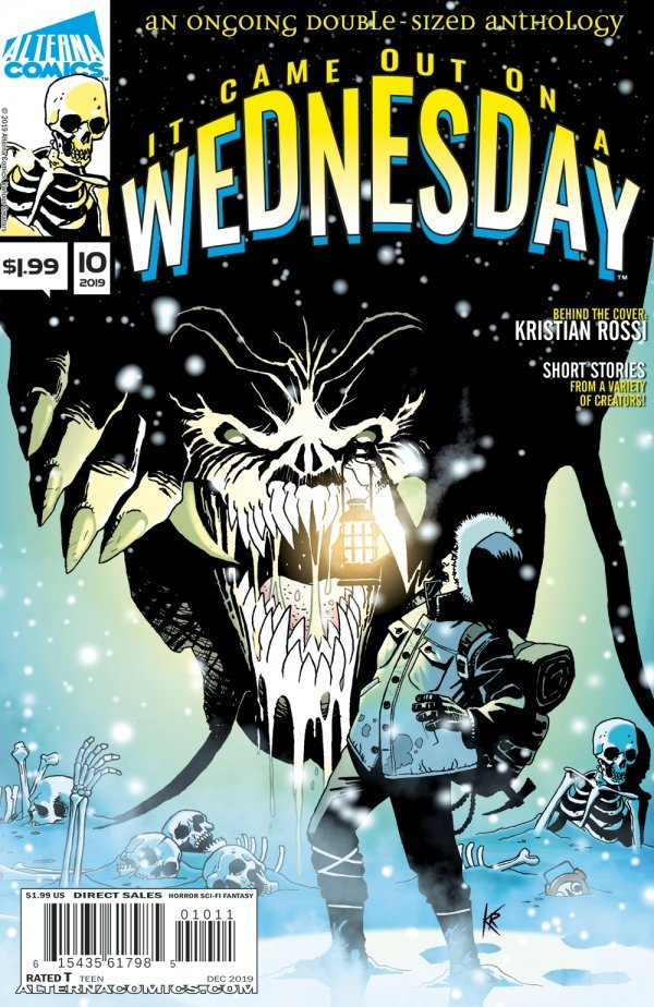 Comic Pulls for week of January 15, 2020 IT CAME OUT ON A WEDNESDAY #10