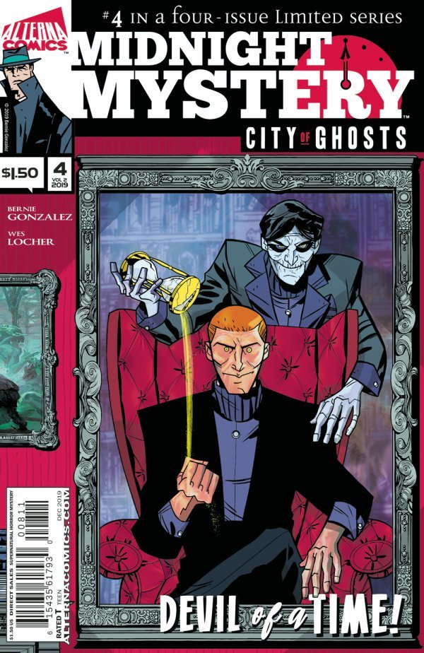 Comic Pulls for week of January 15, 2020 MIDNIGHT MYSTERY CITY OF GHOSTS #4