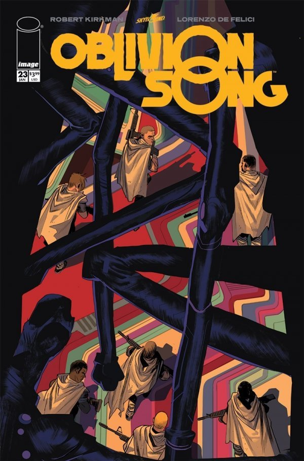 Comic Pulls for week of January 8, 2020 OBLIVION SONG #23