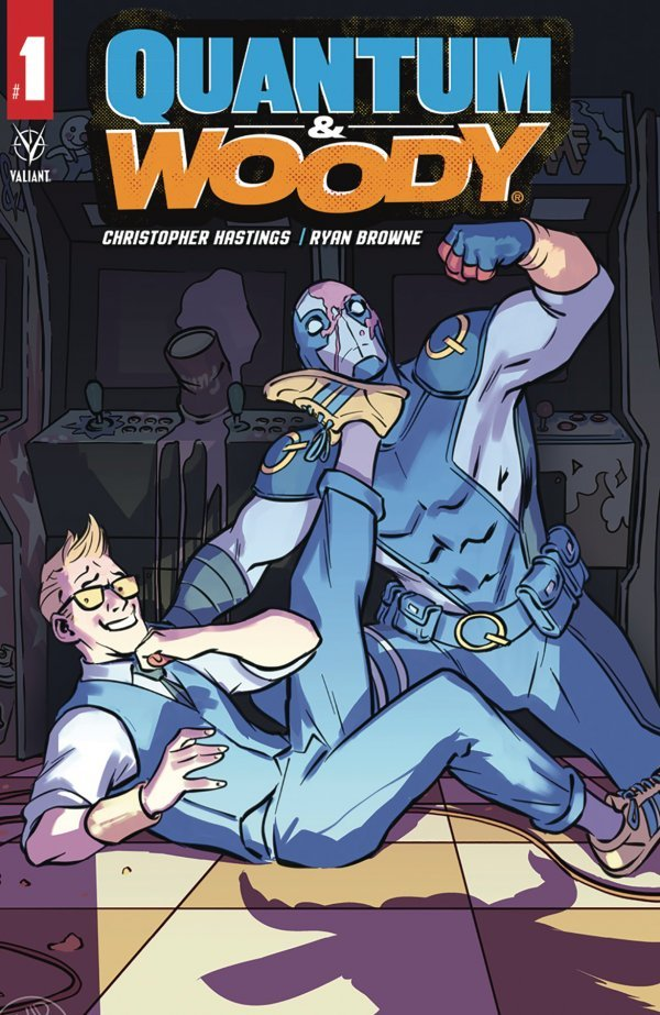 Comic Pulls for week of January 29, 2020 QUANTUM & WOODY #1 COVER C LOPEZ
