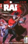 RAI 3 COVER D PRE ORDER EDITION 97x150 Comic Pulls for week of January 15, 2020