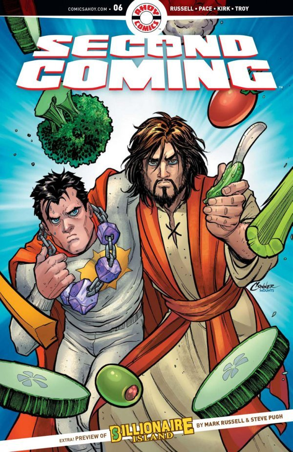 Comic Pulls for week of January 15, 2020 SECOND COMING #6