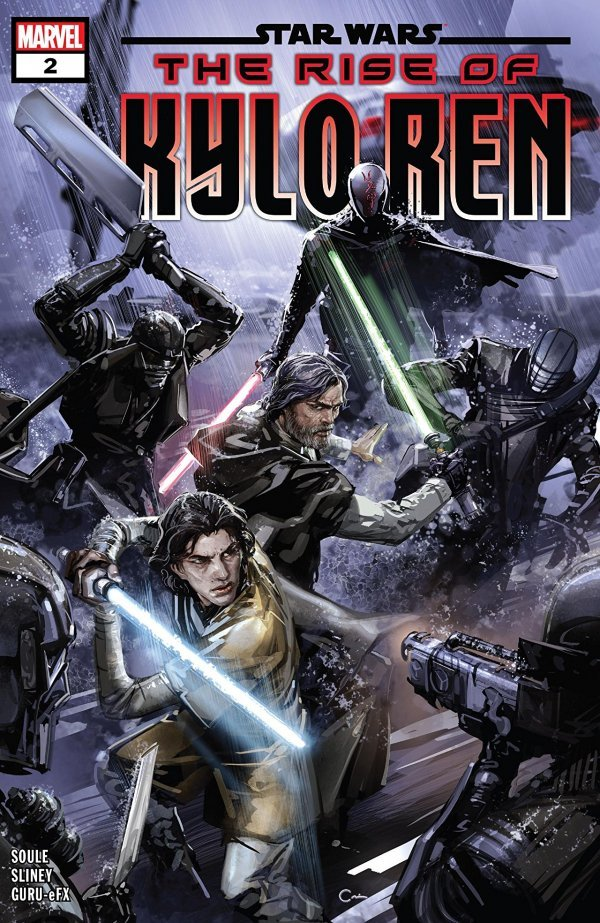 Comic Pulls for week of January 8, 2020 STAR WARS THE RISE OF KYLO REN #2