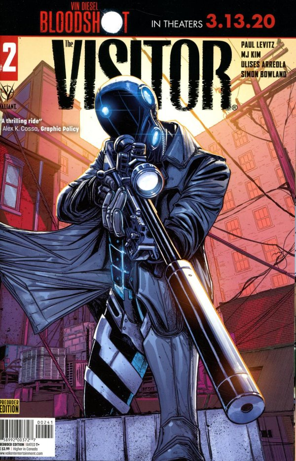 Comic Pulls for week of January 29, 2020 THE VISITOR #2 COVER D PRE-ORDER EDITION