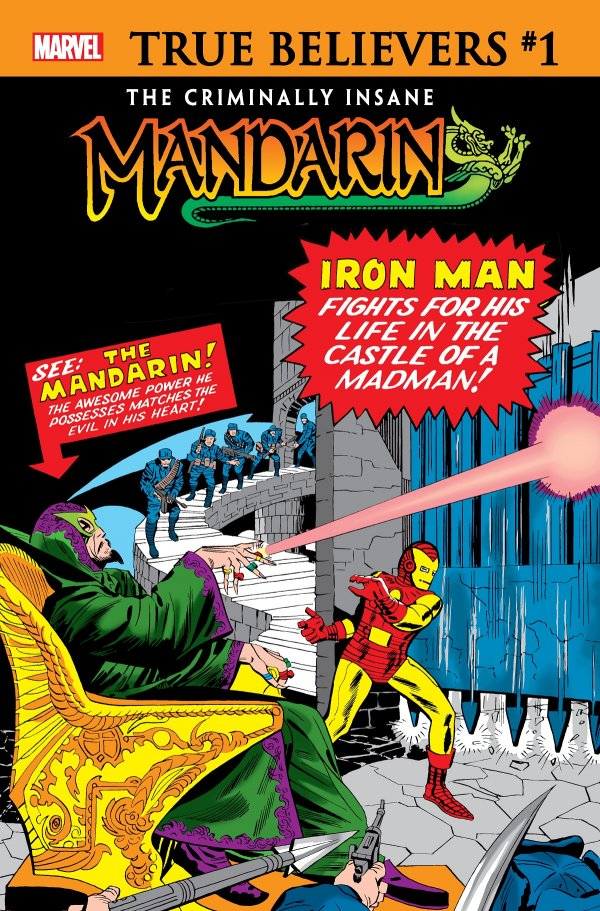 Comic Pulls for week of January 15, 2020 TRUE BELIEVERS THE CRIMINALLY INSANE – MANDARIN #1