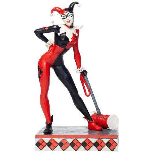 e9a8f7a036dc4df8a607879cc1d10ec5lg 500x500 DC Comics Harley Quinn Statue by Jim Shore