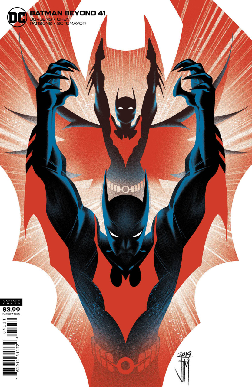 Comic Pulls for week of February 28, 2020 BATMAN BEYOND #41 VARIANT COVER