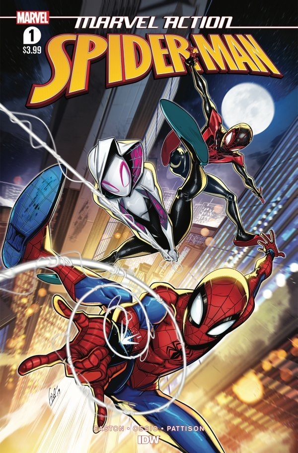 Comic Pulls for week of February 14th, 2020 MARVEL ACTION SPIDER-MAN #1