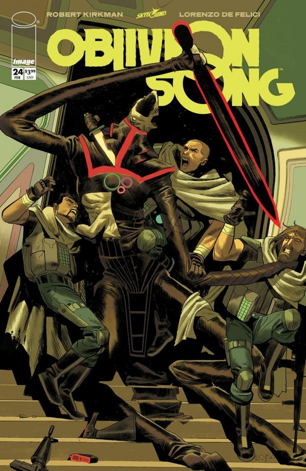 Comic Pulls for week of February 19, 2019 OBLIVION SONG #24