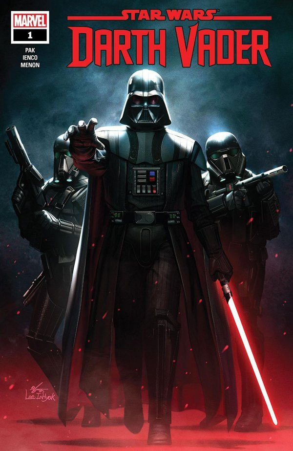 Comic Pulls for week of February 5th, 2020 STAR WARS DARTH VADER #1