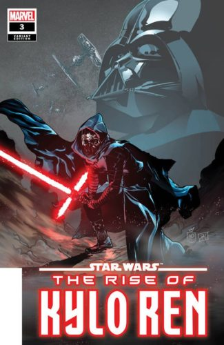STAR WARS THE RISE OF KYLO REN 3 125 VARIANT COVER 325x500 Comic Pulls for week of February 14th, 2020