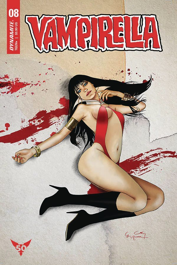 Comic Pulls for week of February 19, 2019 VAMPIRELLA #8 COVER H GUNDUZ