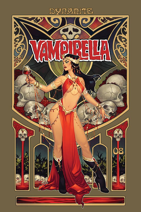 Comic Pulls for week of February 19, 2019 VAMPIRELLA #8 FOC VARIANT – HETRICK