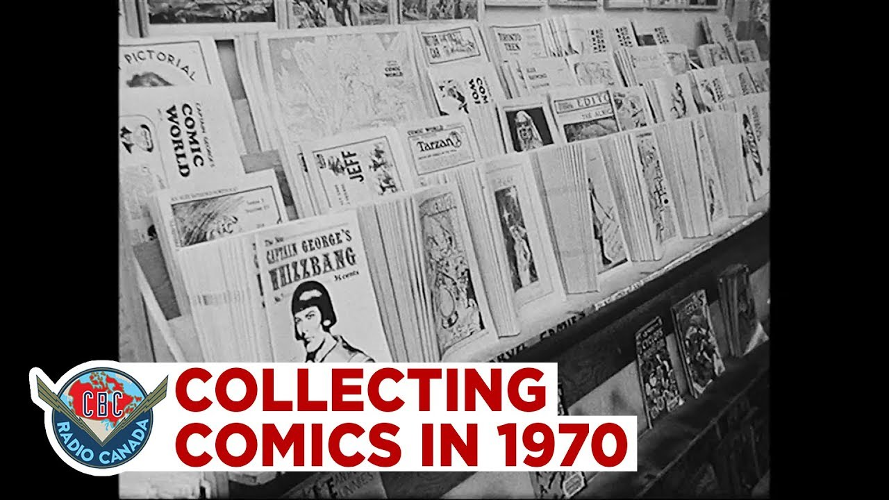 Collecting comic books in 1970 Collecting comic books in 1970
