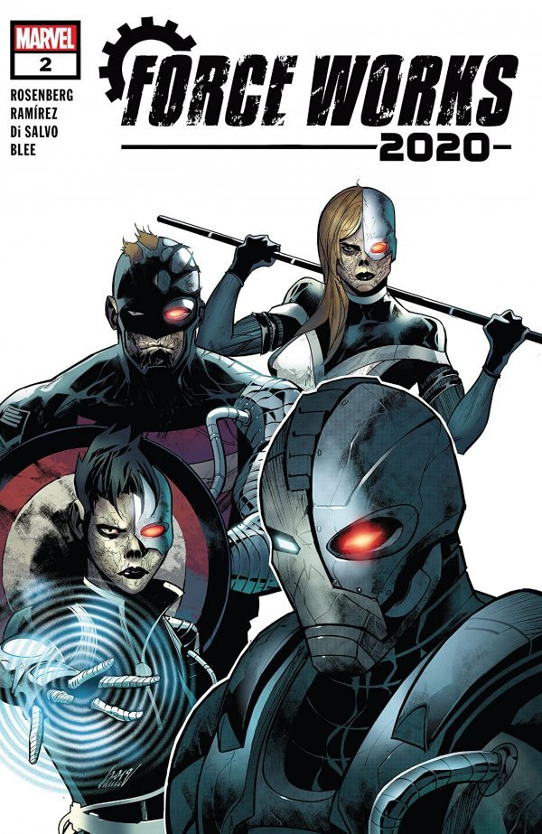 Comic Pulls for weeks of March 18 and 25, 2020 2020 FORCE WORKS #2