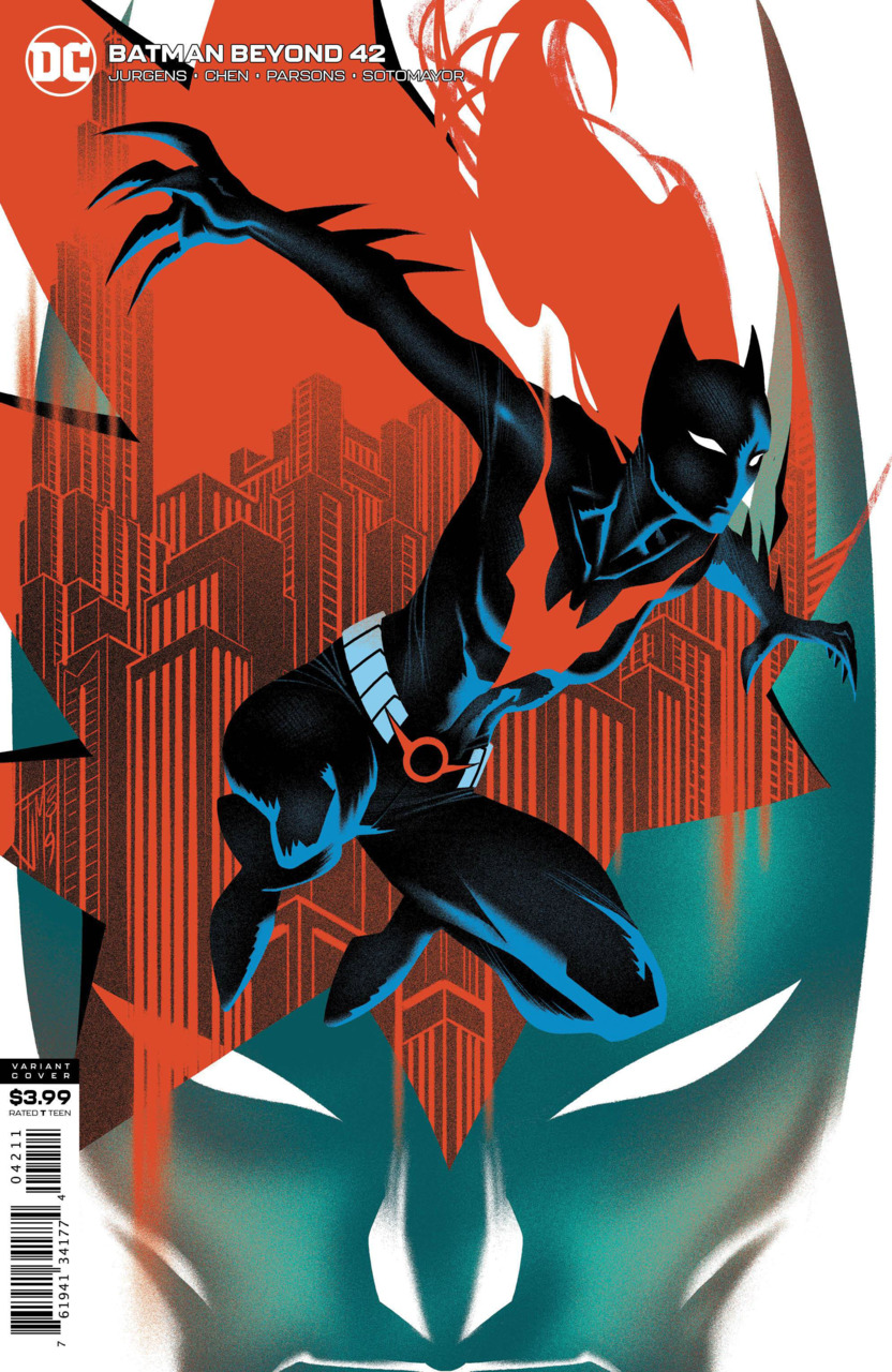 Comic Pulls for weeks of March 18 and 25, 2020 BATMAN BEYOND #42 VARIANT COVER