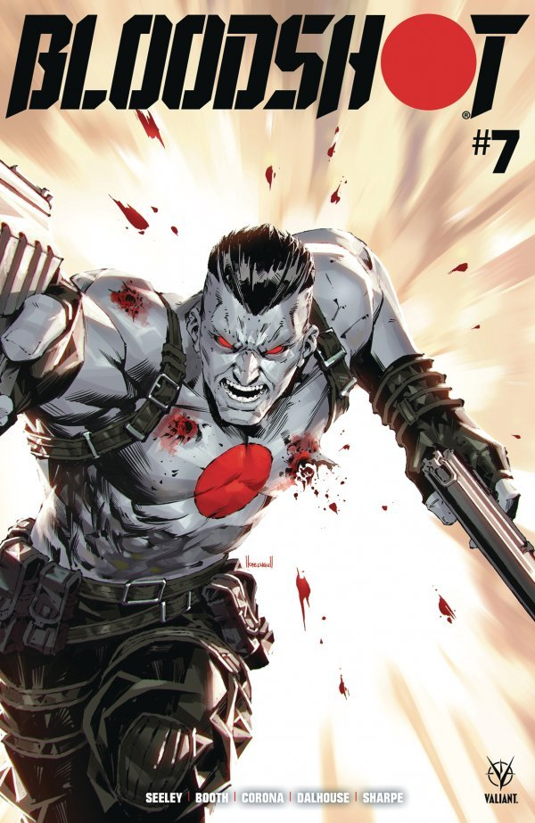Comic Pulls for week of March 13, 2020 BLOODSHOT #7 COVER B NGU
