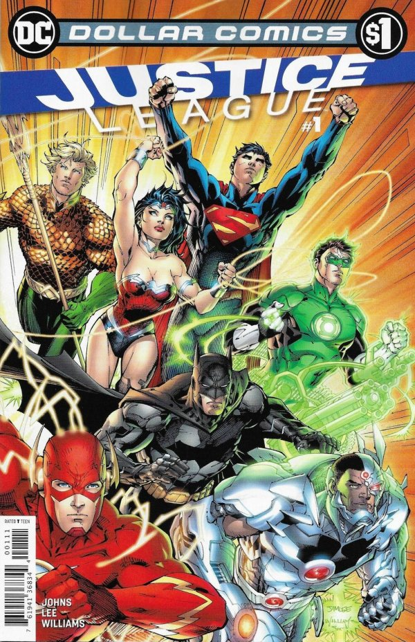 Comic Pulls for weeks of March 18 and 25, 2020 DOLLAR COMICS JUSTICE LEAGUE #1 (2011)