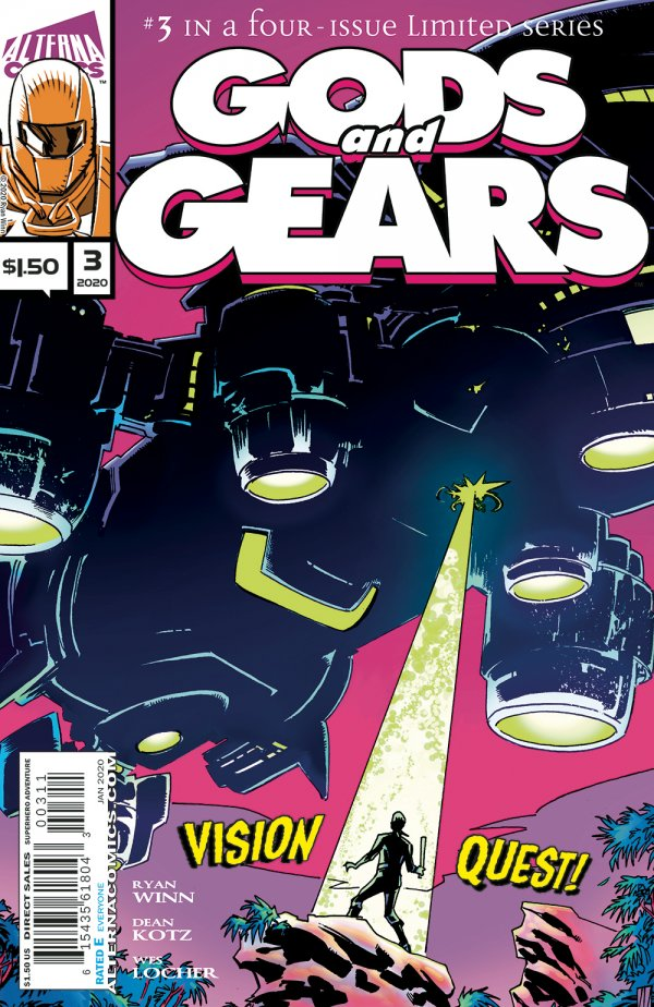 Comic Pulls for weeks of March 18 and 25, 2020 GODS AND GEARS #3