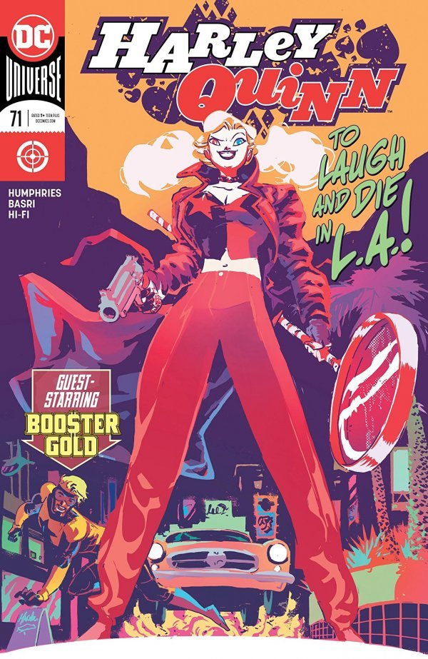 Comic Pulls for week of March 6, 2020 HARLEY QUINN #71