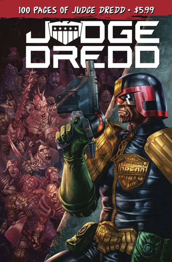 Comic Pulls for week of March 13, 2020 JUDGE DREDD 100 PAGE GIANT #1